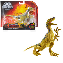 Velociraptor Delta Jurassic World Dino Rivals Attack Pack