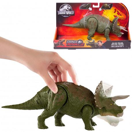 Triceratops Jurassic World Dino Rivals Dual Attack