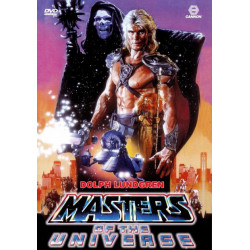 Masters of the Universe 1987 Dolph Lundgren Region 2 DVD