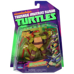 Michelangelo Jokester & hard-hitting nunchuck hero Teenage Mutant Ninja Turtle figure 2012
