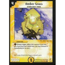 Amber Grass - Common - Duel Masters Shadowclash of Blinding Night (DM-04)