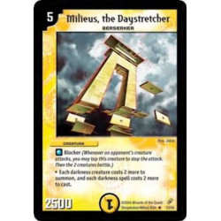 Milieus, the Daystretcher - Uncommon - Duel Masters Shadowclash of Blinding Night (DM-04)