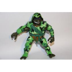 Elite Commando Donatello 2004 - TMNT figure (Komplet panser, men mangler våben)