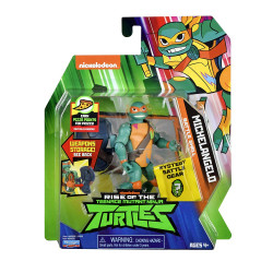 Rise of the Teenage Mutant Ninja Turtles Battle Shell Michelangelo Action Figure