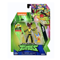 Rise of the Teenage Mutant Ninja Turtles April Street Smart Best Friend Action Figure
