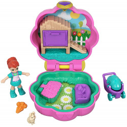 Polly Pocket Hoppin' Hangout Compact Tiny Pocket World