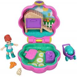 Polly Pocket Hoppin' Hangout Compact Tiny Pocket World