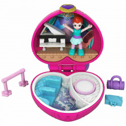 Polly Pocket Sashay Ballet Compact Tiny Pocket World