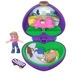 Polly Pocket Pocket Size Picnic Compact Tiny Pocket World
