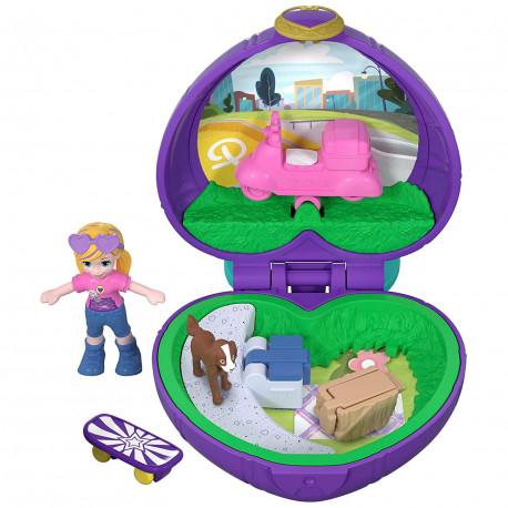 Polly Pocket Pocket Size Picnic Compact Tiny Pocket World