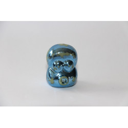 Puff (Metallic Blue Version) - Medium Condition - JoJo's bouncin' boneheads number 37/48
