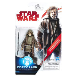 Star Wars Luke Skywalker (Jedi Exile) 3.75 inch The Last Jedi Force Link Action Figure