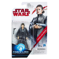 Star Wars General Leia Organa 3.75 The Last Jedi Force Link Action Figure