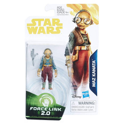 Maz Kanata 3.75 inch Star Wars Solo: a Star Wars Story Force Link Action Figure