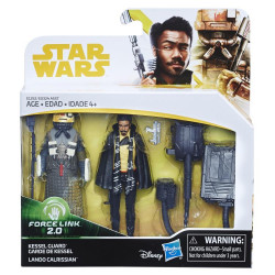 Lando Calrissian & Kessel Guard 3.75 inch Star Wars Solo: a Star Wars Story Force Link Action Figure 2-Pack