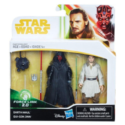 Darth Maul & Qui-Gon Jinn 3.75 inch Star Wars Solo: a Star Wars Story Force Link Action Figure 2-Pack