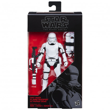 First Order Flametrooper Star Wars The Black Series 6-Inch action figure