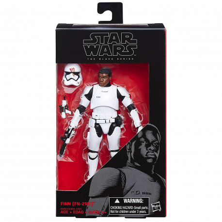 Finn (FN-2187) Star Wars The Black Series 6-Inch action figure