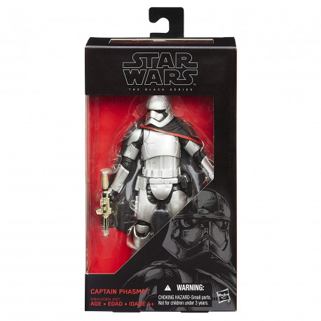 Captain Phasma Star Wars The Black Series 6-Inch action figure
