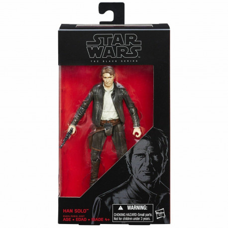 Han Solo Star Wars The Black Series 6-Inch action figure