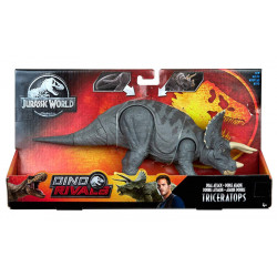 Triceratops Jurassic World Dino Rivals Dual Attack (The Lost World Prototype Colors)
