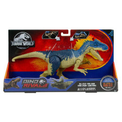 Battle at Big Rock Dual Attack Allosaurus Jurassic World DIno Rivals