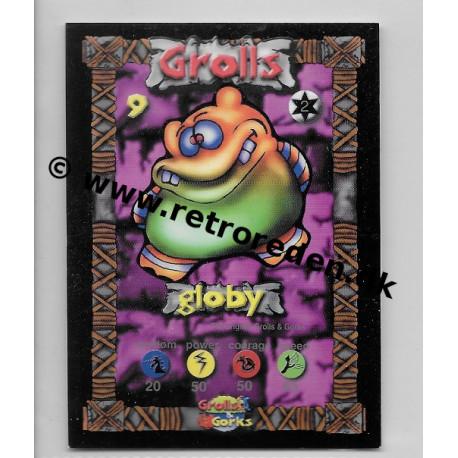 Globy - Grolls & Gorks card number 9
