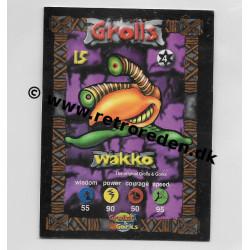 Wakko - Grolls & Gorks card number 15