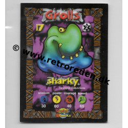 Sharky - Grolls & Gorks game card number 17