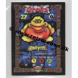 Golym - Grolls & Gorks Game Card number 27