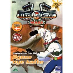 Motormus fra Mars: Byens nye Katte DVD nr 5 (brugt DVD)