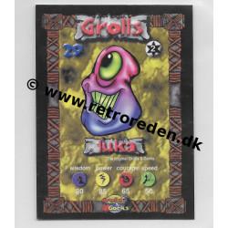 Luka - Grolls & Gorks Game Card number 29
