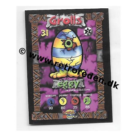 Eggy - Grolls & Gorks Game Card number 31