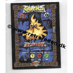 Grumpy - Grolls & Gorks Game Card number 32