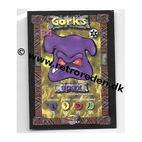 Apax - Grolls & Gorks Game Card number 34
