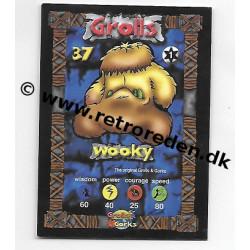 Wooky - Grolls & Gorks Game Card number 37