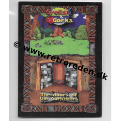 The Doors of the Gorkmines - Grolls & Gorks Game Cards Location Card