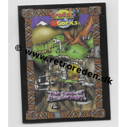 The Cave of the Gork-spy - Grolls & Gorks Game Cards Location Card