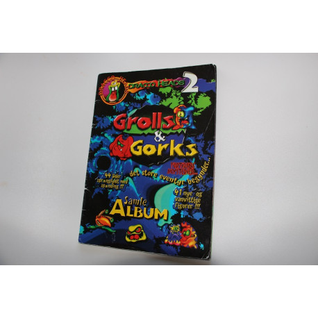 DANISH Grolls & Gorks collectors album (used condition)