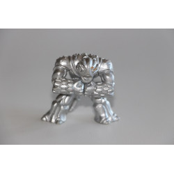 Steelback - Silver Version - Gormiti Figure