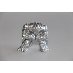 Steelback - Silver Version - Gormiti Figure