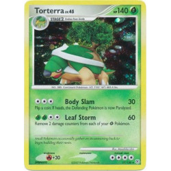 Torterra (brugt stand) - Diamond and Pearl - 17/130 - holo rare
