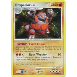 Rhyperior (brugt stand) - Diamond and Pearl - 12/130 - holo rare