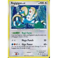 Regigigas - Diamond and Pearl Stormfront - 9/100 - holo rare