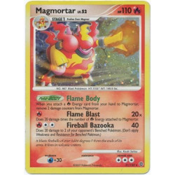 Magmortar - Diamond and Pearl Secret Wonders - 31/132 - holo rare