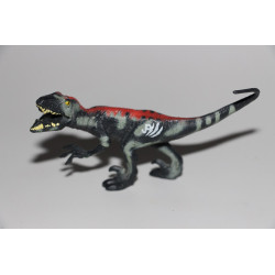 CamoXtreme Lava Velociraptor Jurassic Park 3 toy figure