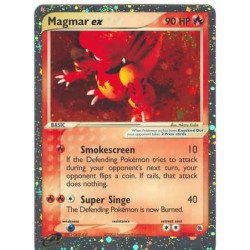 Magmar EX (moderately played) - EX Ruby and Sapphire 100/109 - ultra-rare