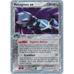 Metagross EX (near mint/mint condition) - EX Power Keepers 95/108 - ultra-rare