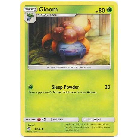 Gloom - Pokemon Sun & Moon: Cosmic Eclipse - 3/236 - Uncommon