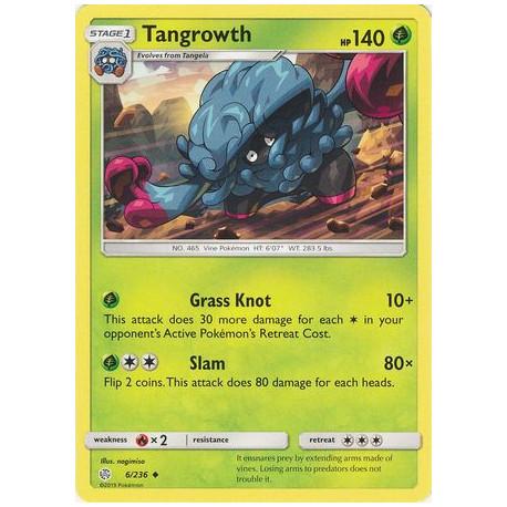 Tangrowth - Pokemon Sun & Moon: Cosmic Eclipse - 6/236 - Uncommon